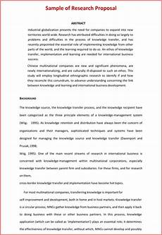 Proposal Writing Sample 9 Free Research Proposal Templates Amp Examples Word Pdf