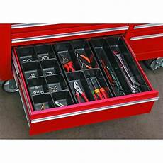 3 pc 14 compartment drawer organizer set hardware tool box