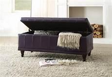 afton purple upholstered storage bench cincinnati