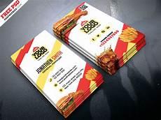 Restaurant Business Card Food Restaurant Business Card Psd Psdfreebies Com