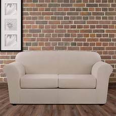 Surefit Sofa Slipcovers Leather 3d Image by Ultimate Stretch Leather Three Loveseat Slipcover