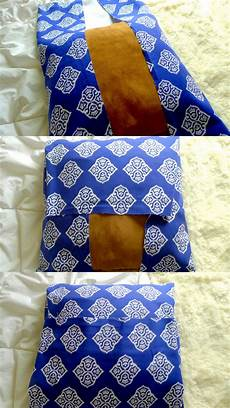 diy pillows diy no sew pillow