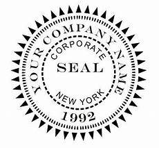 Design A Seal Custom Designer Corporate Seal Shiny Ez Seal Embosser