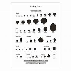 Actual Gemstone Size Chart Gemstone Size Guide