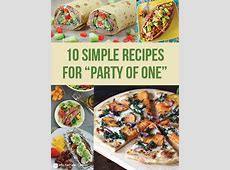 9 Quick & Easy Single Dinner Recipes for One Person