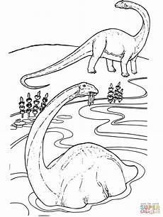 apatosaurus coloring page free printable coloring pages
