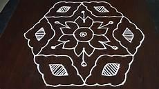 3 Pulli Kolam Designs 13 Pulli Kolam 13 To 7 Pulli Kolam 13 To 7 Pulli