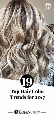 Trendy Colors Most Popular Hair Color Trends 2017 Top Hair Stylists