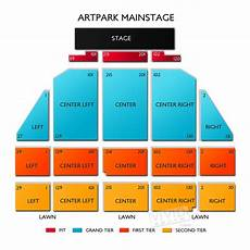 Artpark Mainstage Lewiston Ny Seating Chart Artpark Seating Chart Vivid Seats