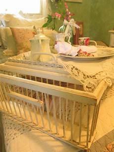 vintage bed tray white wooden breakfast tray breakfast