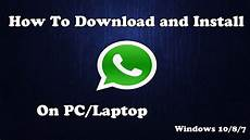 How Can I Download Word For Free Download Whatsapp For Pc Laptop Windows 10 8 7 For Free
