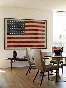 American Flag Office Framed 48 Star American Flag Content In A Cottage