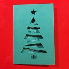 Malvorlagen Tannenbaum Selber Machen by Wie Kann Originelle Weihnachtskarten Basteln Mit