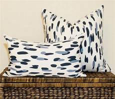 dalmatian chinoiserie blue and grey pillow cover navy