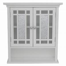 home white bathroom wall cabinet with 2
