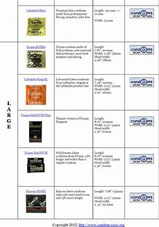 Magnum Xl Size Chart Free Size Chart Pdf 368kb 7 Page S Page 4