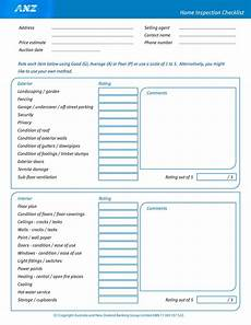 Home Inspection Sheet 20 Printable Home Inspection Checklists Word Pdf ᐅ