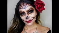 glam sugar skull makeup tutorial dia de