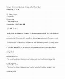Employee Termination Letter Sample 10 Employee Termination Letter Templates Doc Pdf Ai