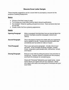 Sample Cover Letter For Job Resume Cover Letter Resume Best Templatesimple Cover Letter