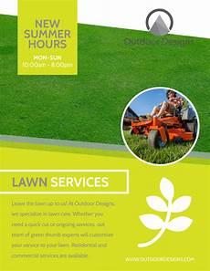 Lawn Mower Flyers Lawn Mower Service Options Flyer Template Mycreativeshop