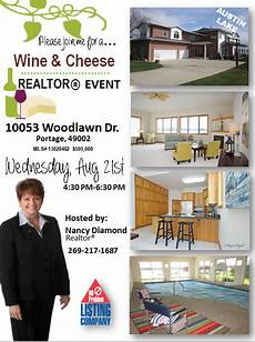 Broker Open House Flyer Broker Open House Flyer Open House House Real Estate