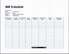 Debt Organizer Template Simple Bill Payment Organizer With Date Tracker Excel