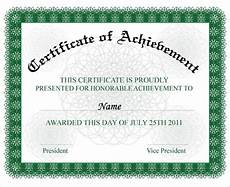 Wording For Certificate Free 18 Certificate Of Achievement Templates In Ai