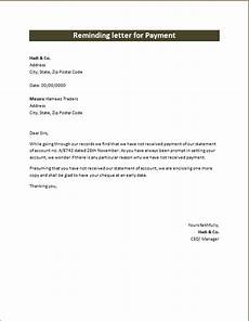 Payment Received Letter Friendly Reminding Letters Of Payment Microsoft Word