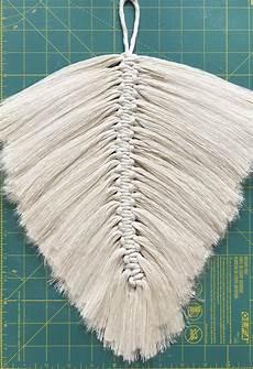 diy macrame feathers honestly