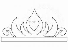 Paper Crown Template For Adults Princess Paper Crown Printable Coloring Page