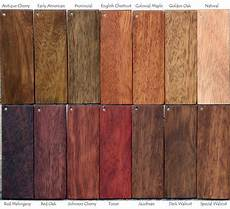Mahogany Wood Stain Color Chart Wood Door Finishing At Nicks Building Supply Wood Stain