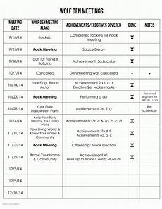 Den Duty Chart Ideas Boy Scout Meeting Ideas Examples And Forms