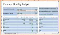 Monthly Expenses Excel Sheet Format 8 Monthly Expenses Spreadsheet Template Excel