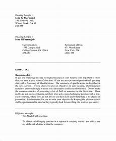 What Is Objective On A Resume Free 10 Resume Objective Samples In Ms Word Pdf