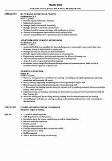 Rn Duties For Resume Sample Resume Of Nursing Supervisor Sample Resume