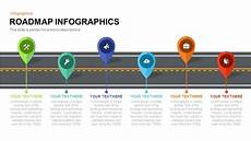 Powerpoint Roadmap Template Roadmap Infographics Powerpoint Template And Keynote Slide