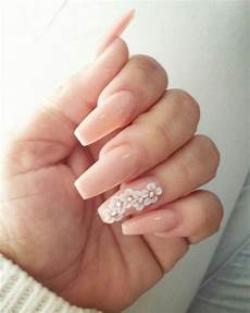 Acrylic Nails With Flower Design Coffin Style Nails With 3 D Flowers Flower Nails 3d