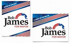 Campaign Poster Template Free Political Campaign Poster Template Word Amp Publisher