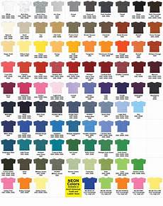 Gildan Shirt Color Chart Gildan T Shirt Color Chart Neiltortorella Com