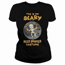 Busch Light Costume Busch Light This Is My Scary Drinker Costume Shirt