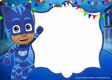 Pj Mask Malvorlagen Free Free Pj Masks Invitation Templates Editable And