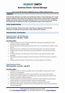 Example Of Business Resume Business Development Resume Samples Examples And Tips