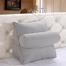 toyswill triangle sofa cushion backrest wedge pillow bed