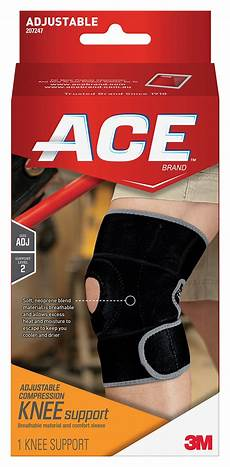 ace knee compression sleeve ace knee brace with dual side stabilizers