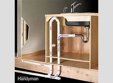 How to Plumb an Island Sink   The Family Handyman