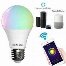 Light Smart Wifi Smart Led Light Bulb Works With Alexa Smartphone
