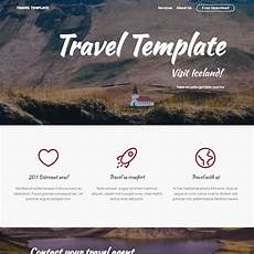 Free Travel Samples 80 Free Bootstrap Templates You Can T Miss In 2019