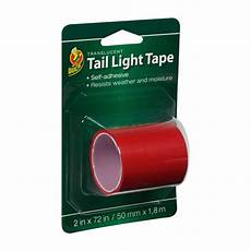 Red Tape Over Light Light Tape Red 2 In X 72 In Duck Brand