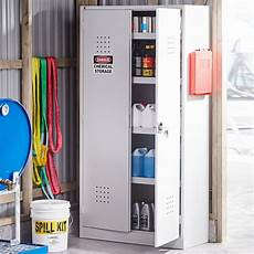 chemical cabinet 1900x1000x400 mm grey aj products